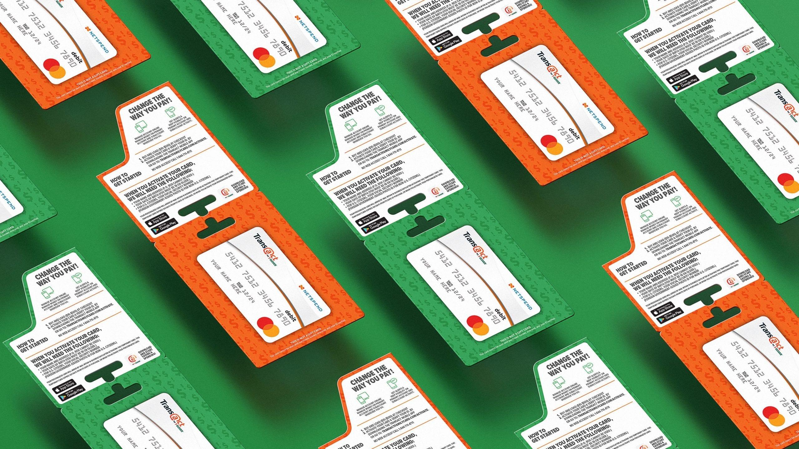 7 eleven transact packaging design