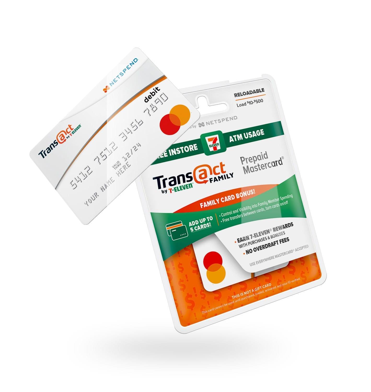 7 eleven transact branding