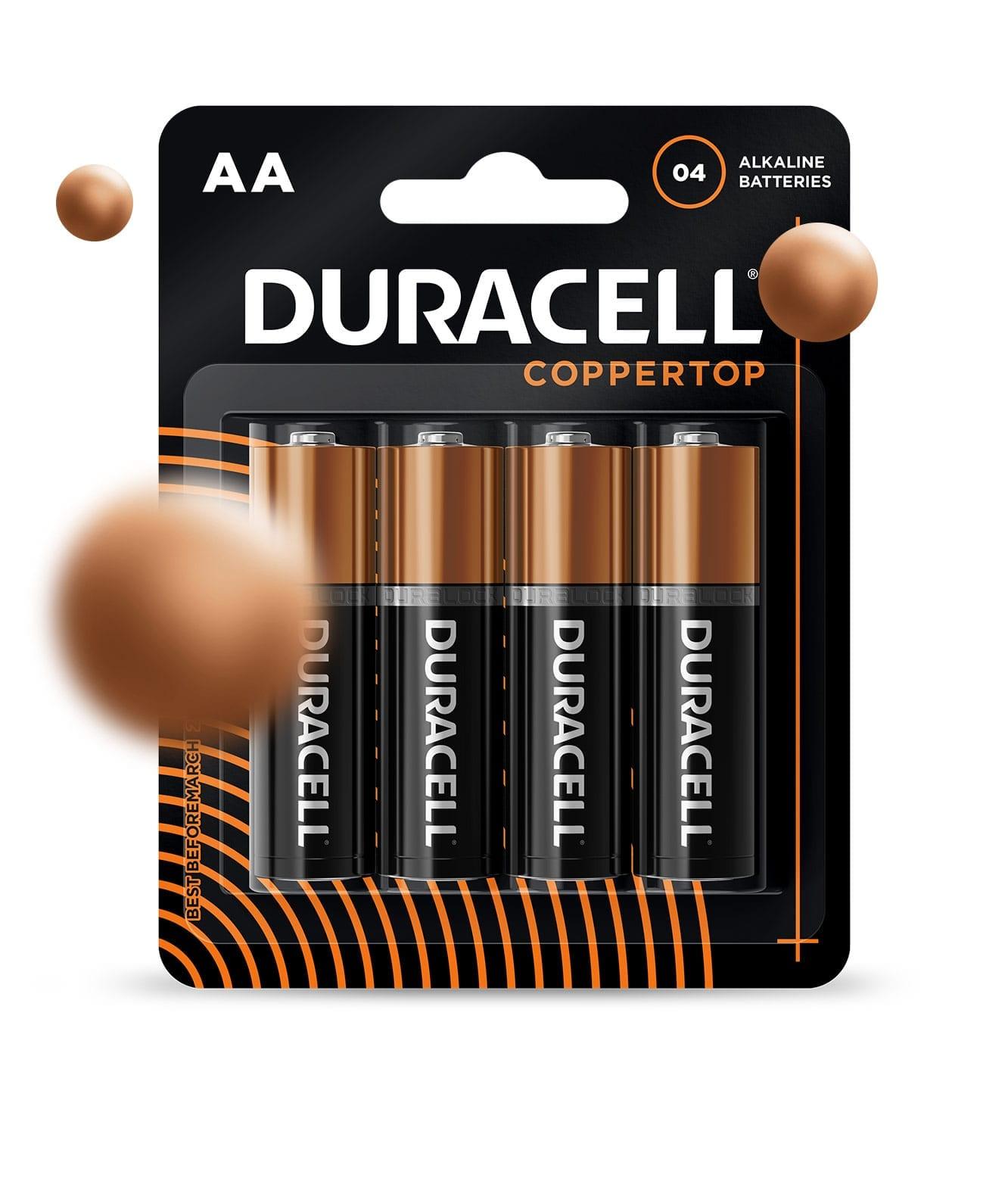 Duracell coppertop packaging design