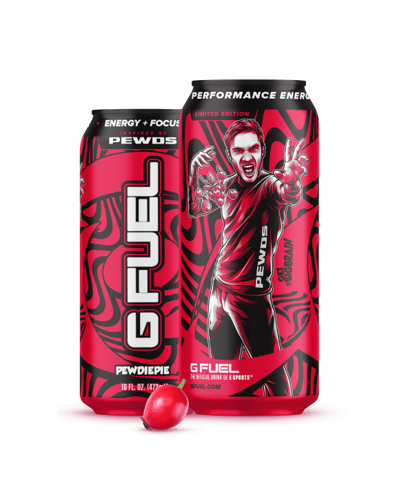 GFuel energy packaging design company