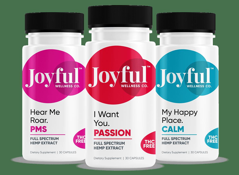 joyful wellness bottle designer