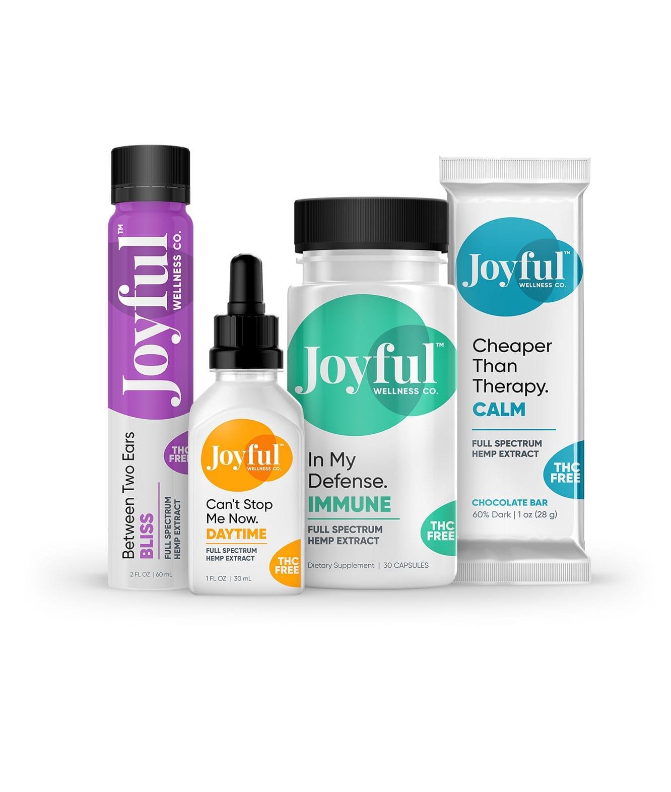 joyful wellness packaging designer