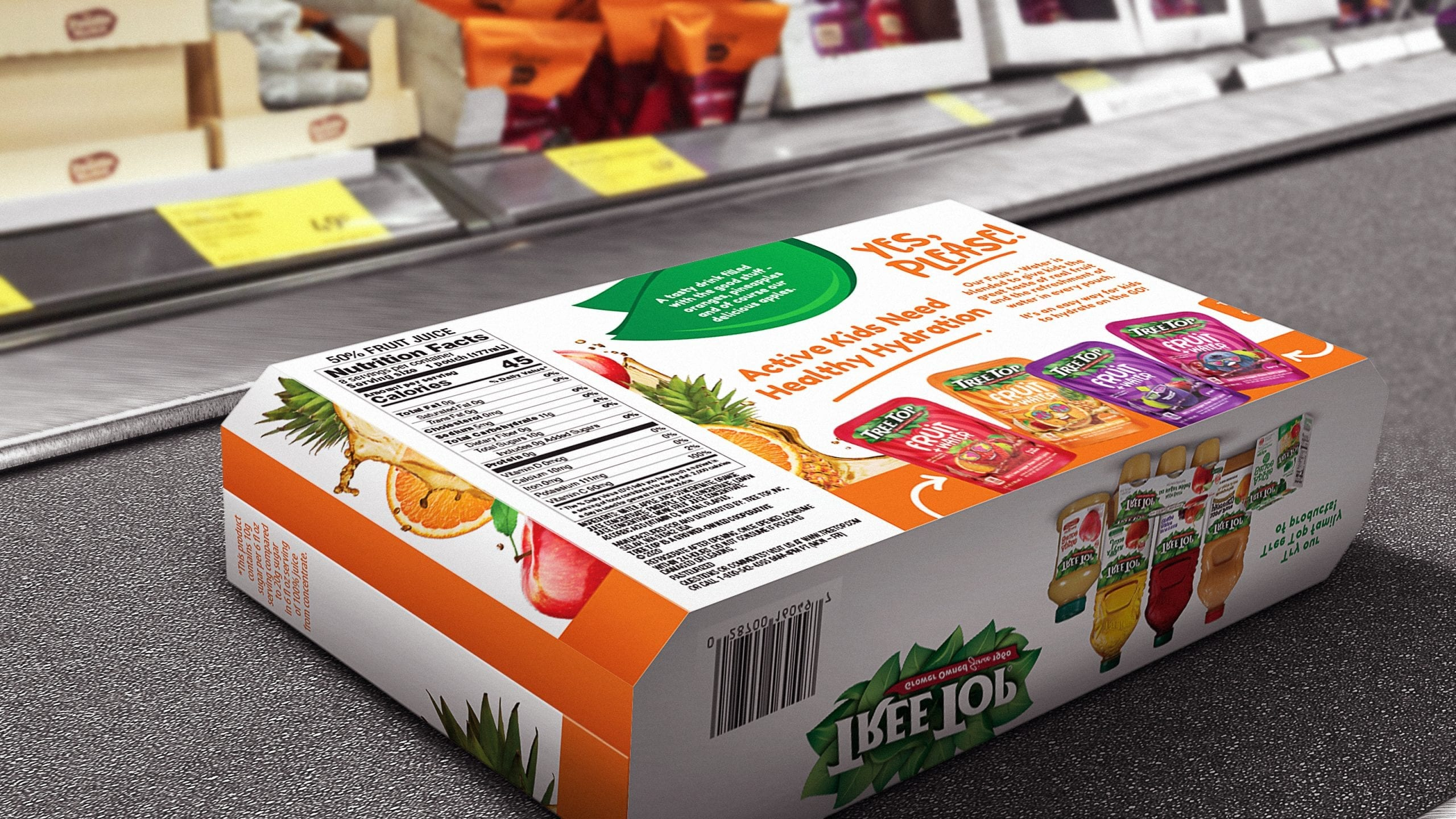 treetop fruit water box design company