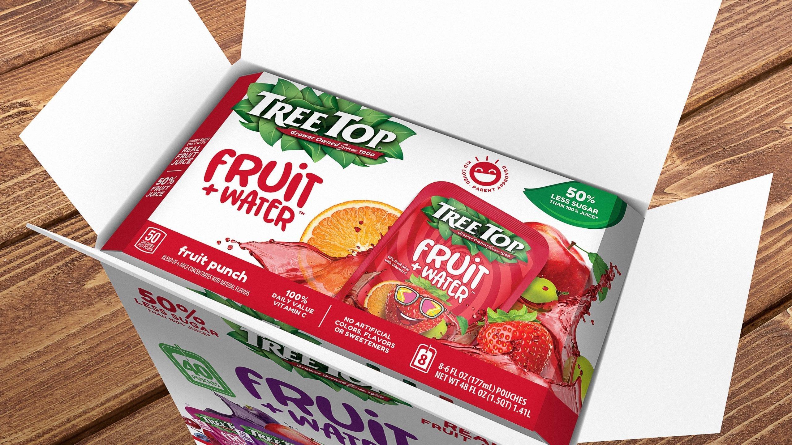 treetop box packaging design