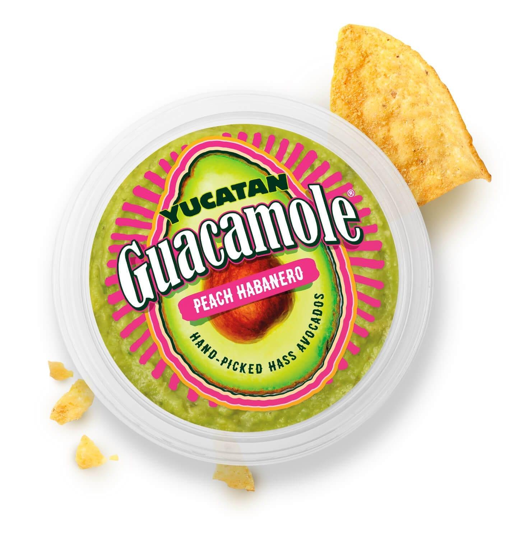 Yucatan Guacamole packaging design