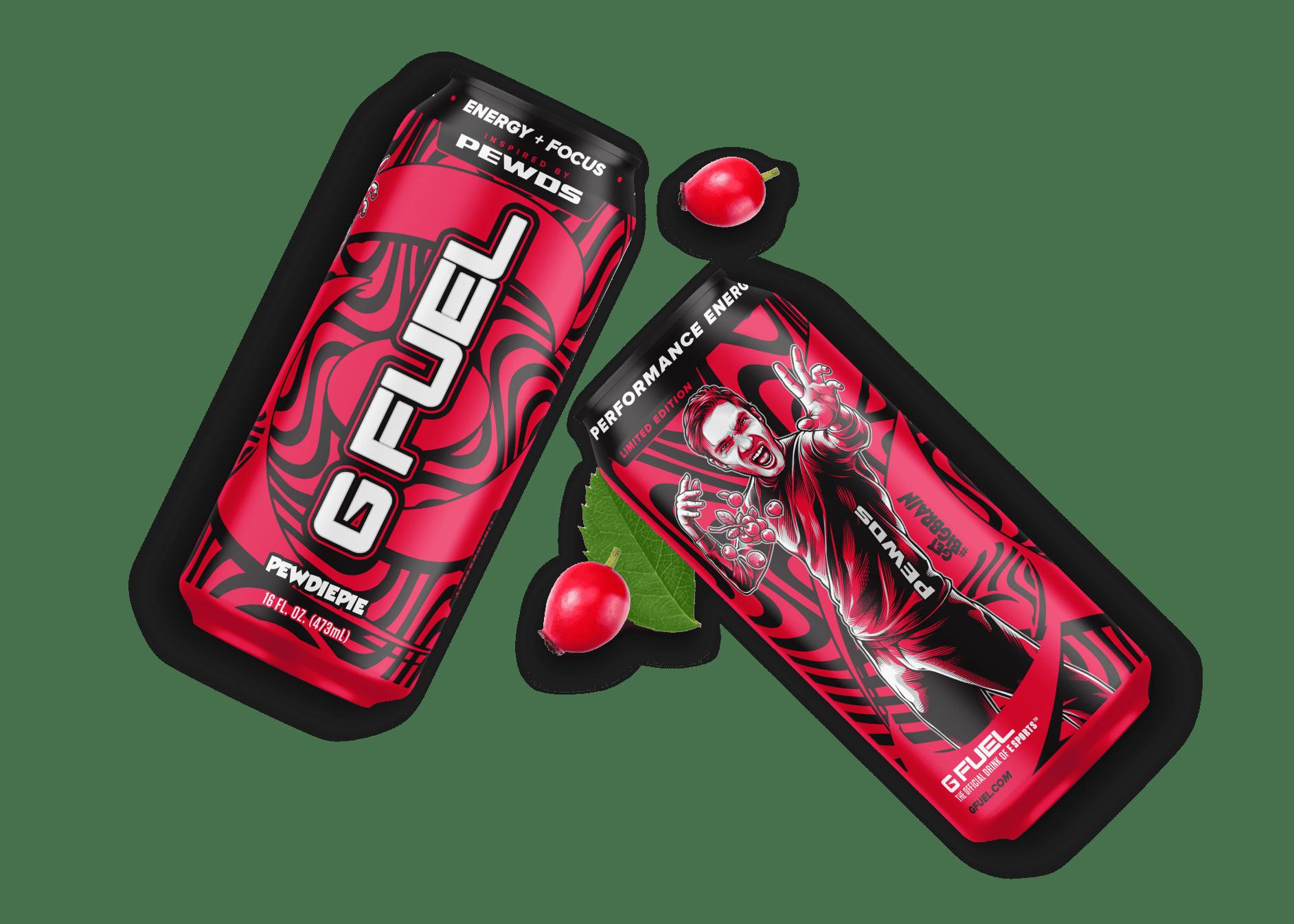 gfuel packaging design