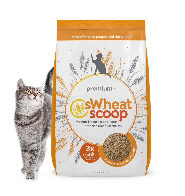 sWheat Scoop Cat Litter Packaging Design